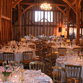 Blake Hall Wedding Barn near Ongar for your wedding day