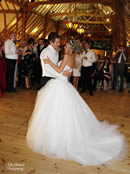 Bride and Groom dance at Barn Brasserie London for Weddings