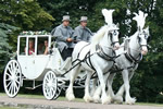 London Wedding Carriage All weather glass coach for your wedding day