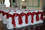 London Wedding Chair Covers