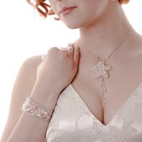 Wedding Accessories, Bridal Necklace and bracelet, created by London Wedding Accessories Company