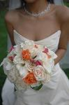Bridal bouquet with colour themed highlights by London based Florist