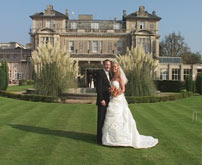 Bride and Groom at London Wedding Venue, image captured by Professional London Wedding Videographer