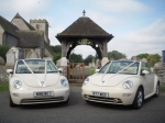 Wedding Car Hire London.  Wedding Car Rental of  VW beetle
