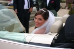 Wedding Car Hire of VW beetle